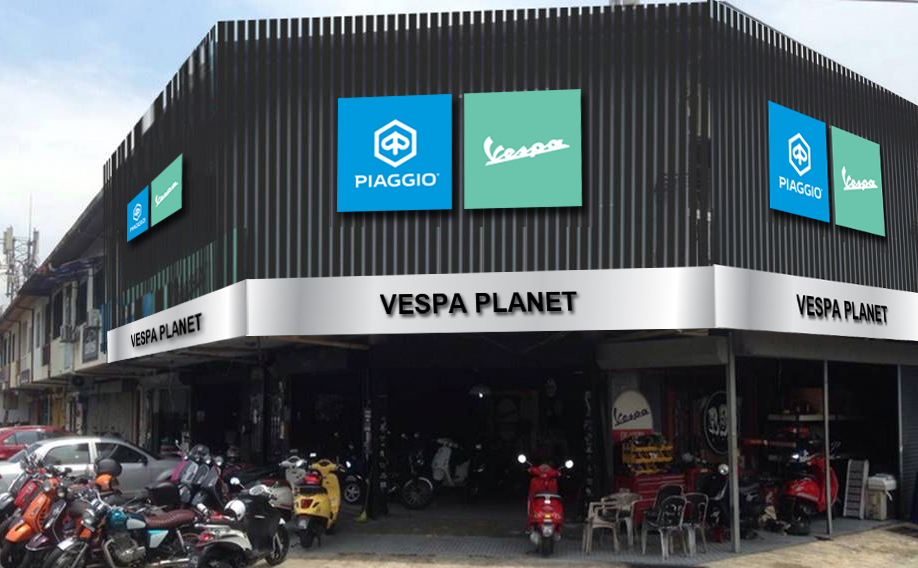Showroom VESPA PLANET