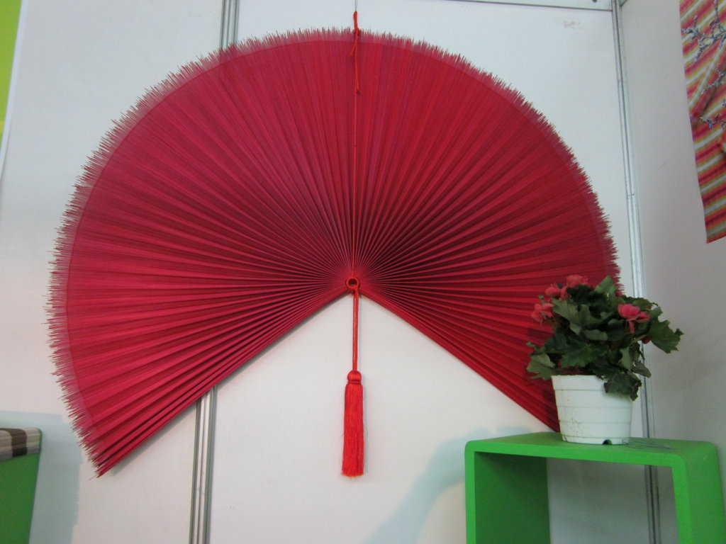 Bamboo decoration fan