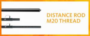 Distance rod m20 thread