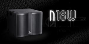 18 inch ACTIVE SUBWOOFER N18W