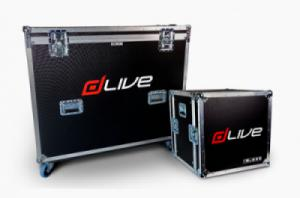 Flightcases for dLive