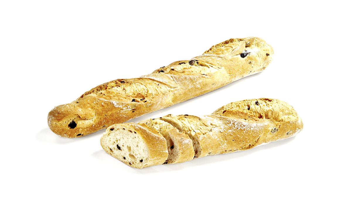 Olive Baguette <br> Bánh Mì Que Oliu