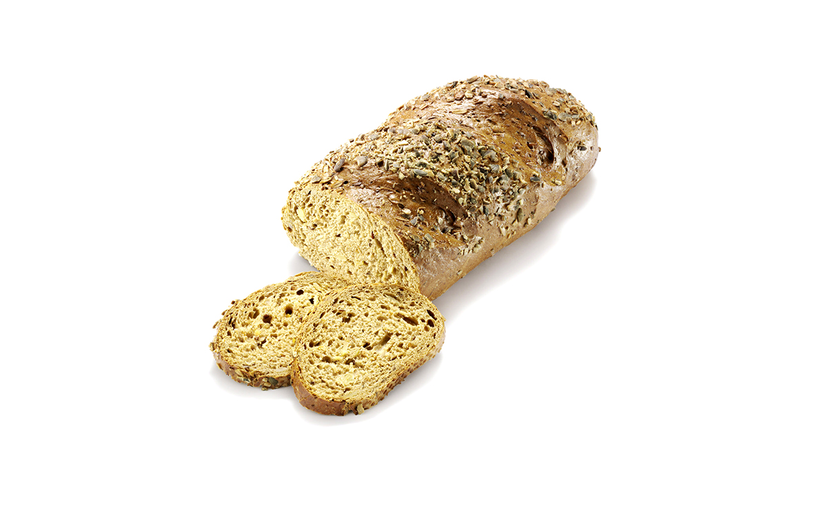 Pumpkin Seed Bread <br> Bánh Mì Nhân Hạt Bí Ngô