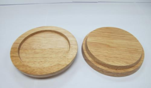 Wooden lid - coaster