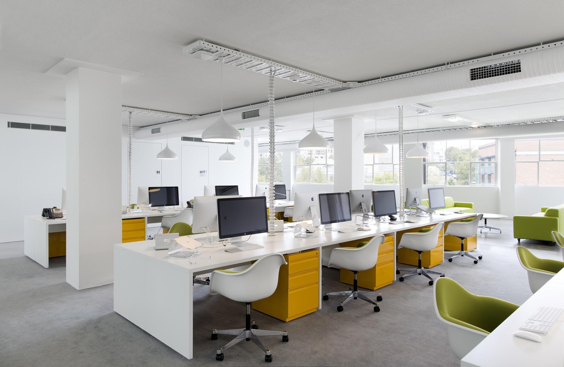 Phong cách thiết kế nội thất văn phòng đơn giản mà đẹp