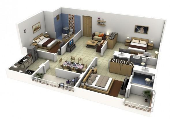 xu hướng thiết kế nội thất căn hộ