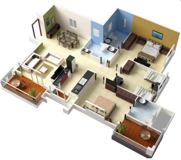 mẫu căn hộ đẹp nhất