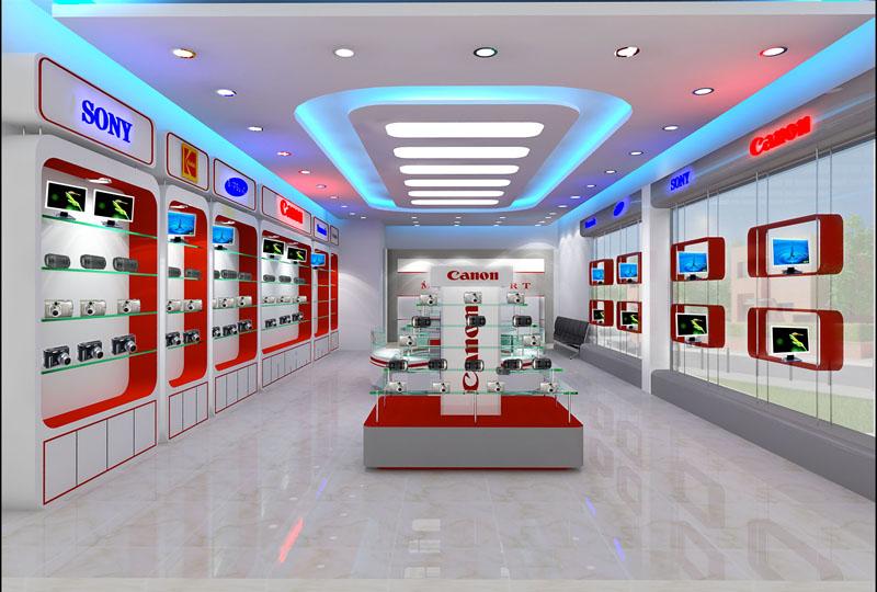 Thiết kế thi công nội thất showroom sang trọng, hiện đại