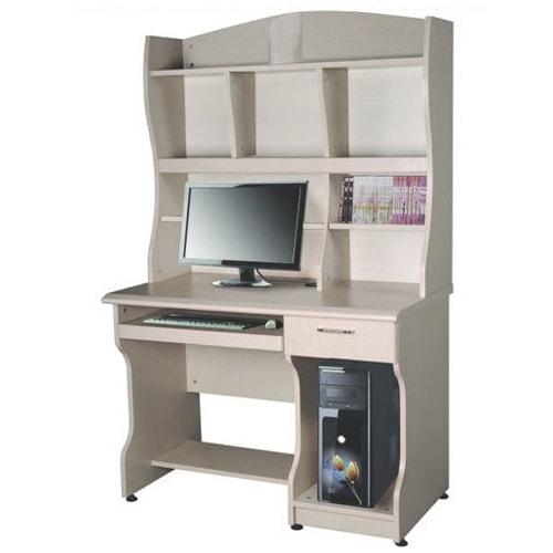 bàn máy tính và giá sách hòa phát
