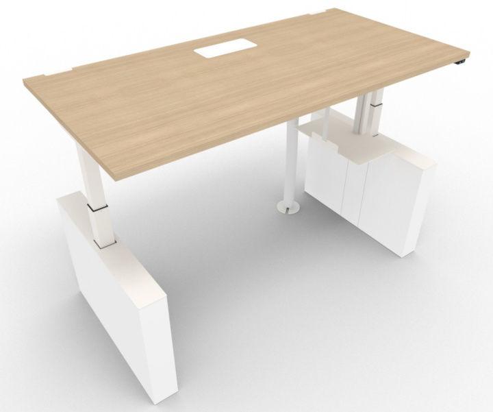 bàn văn phòng chiều cao có thể nâng lên hạ xuống