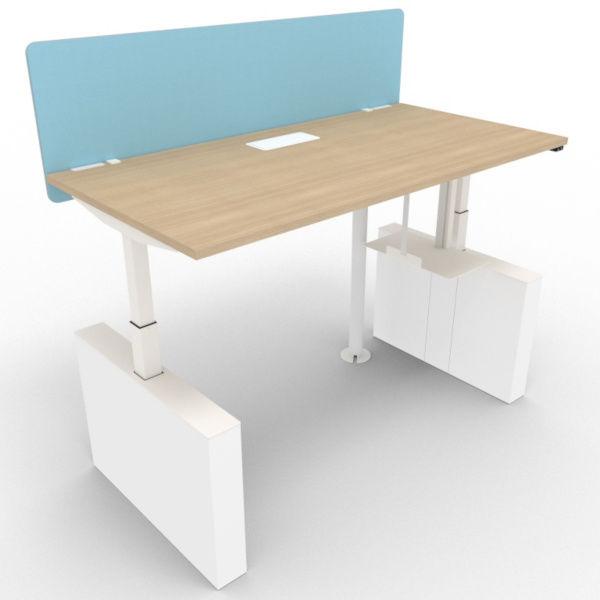 bàn văn phòng cố chiều cao linh hoạt