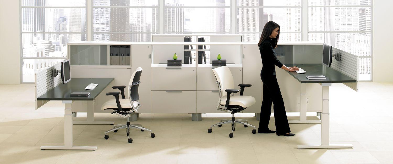 bàn làm việc đứng