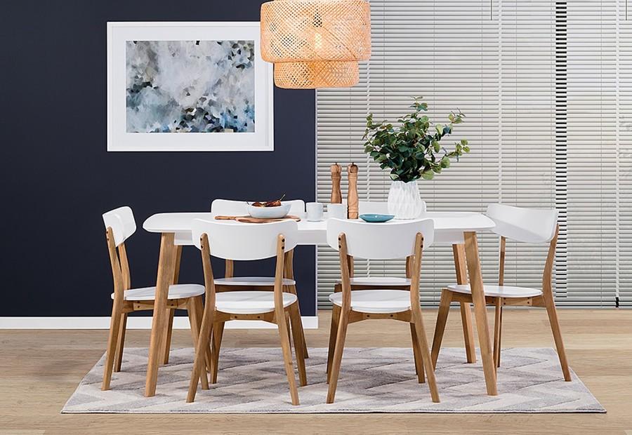 bàn ăn hiện đại 6 người