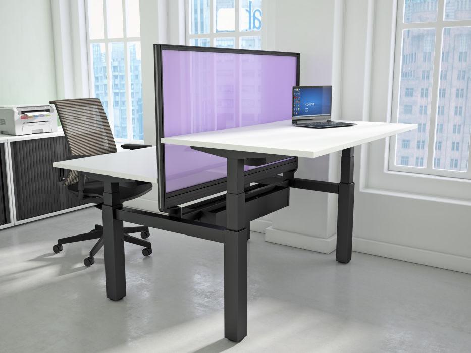 bàn văn phòng thay đổi chiều cao