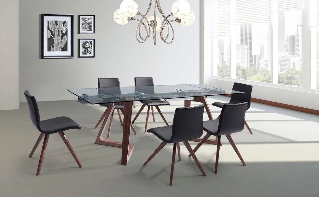 bàn bằng kính cho văn phòng