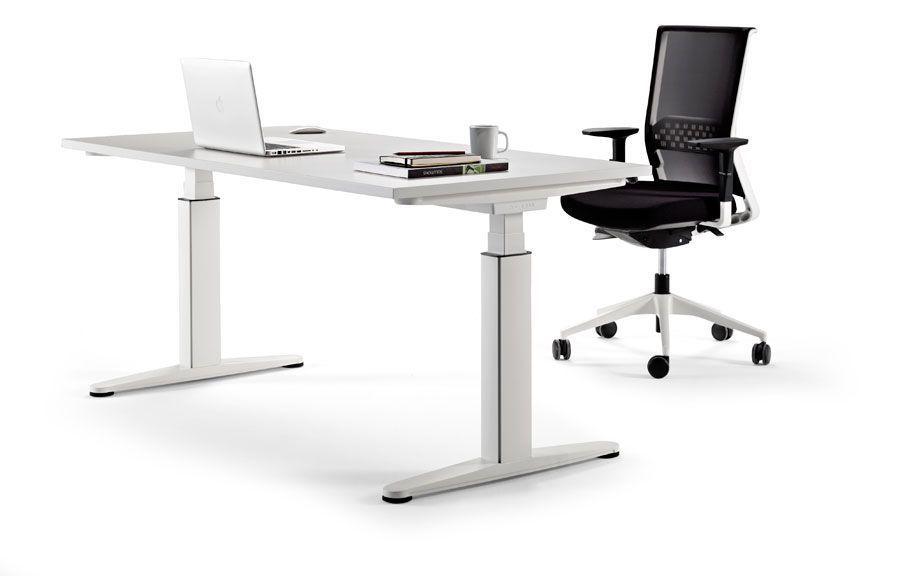 bàn văn phòng chiều cao linh hoat