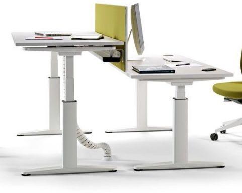 bàn văn phòng làm việc thay đổi  đứng và ngồi