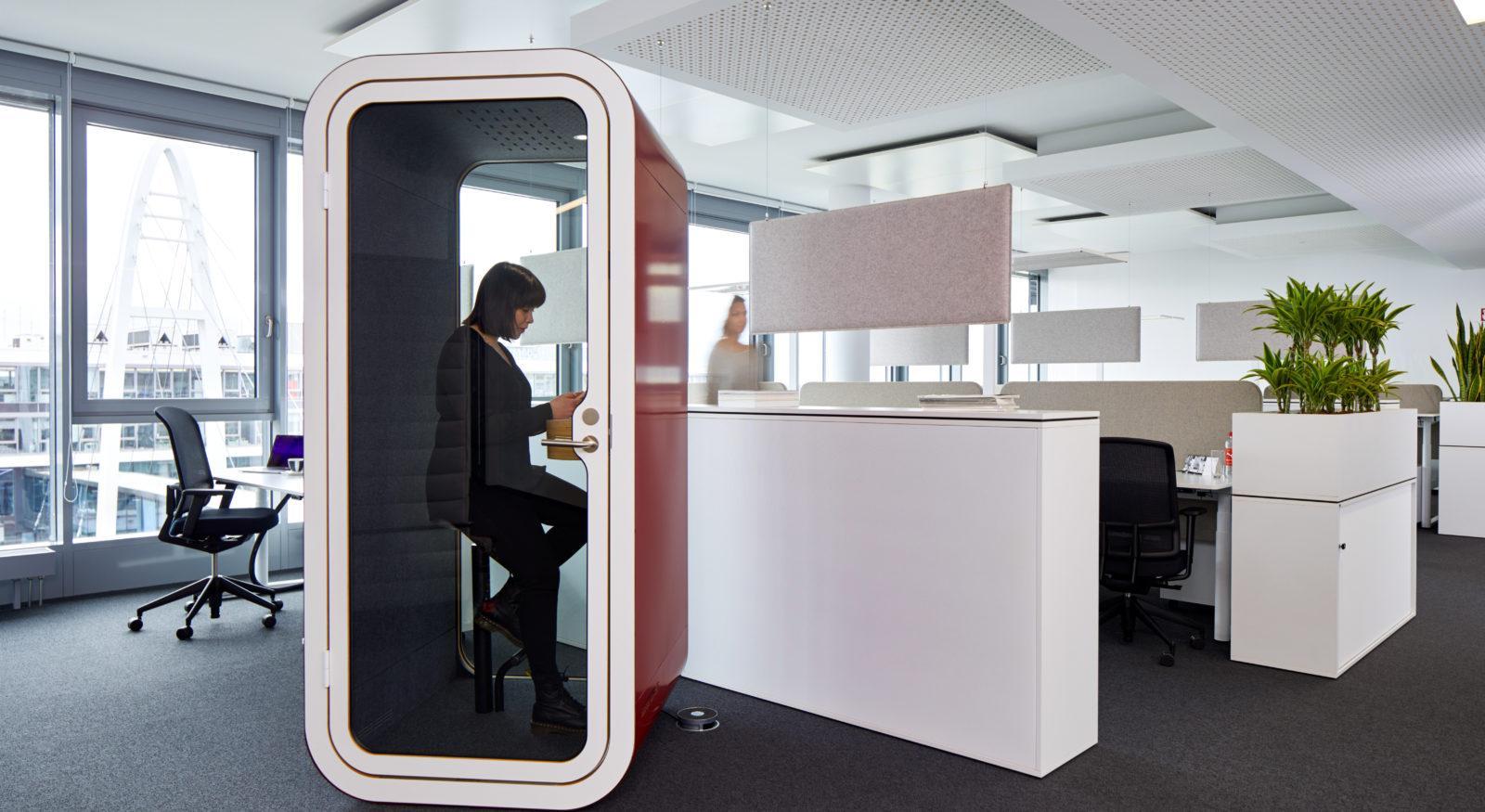 cabin buồng làm việc cho văn phòng