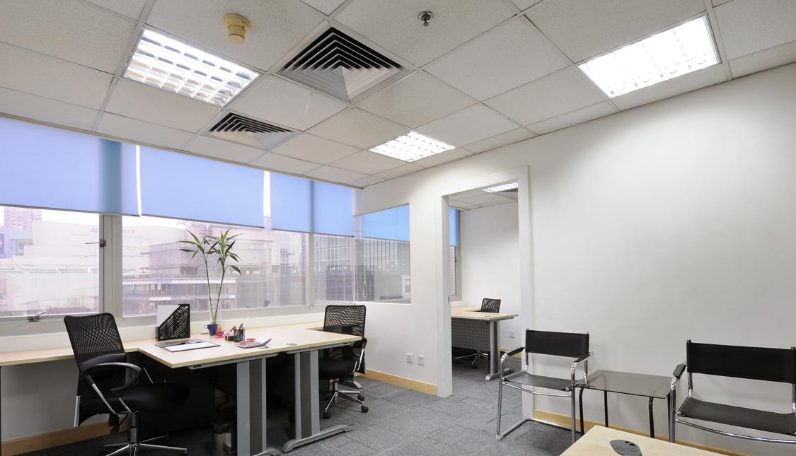 thiết kế chiếu sáng cho phòng làm việc