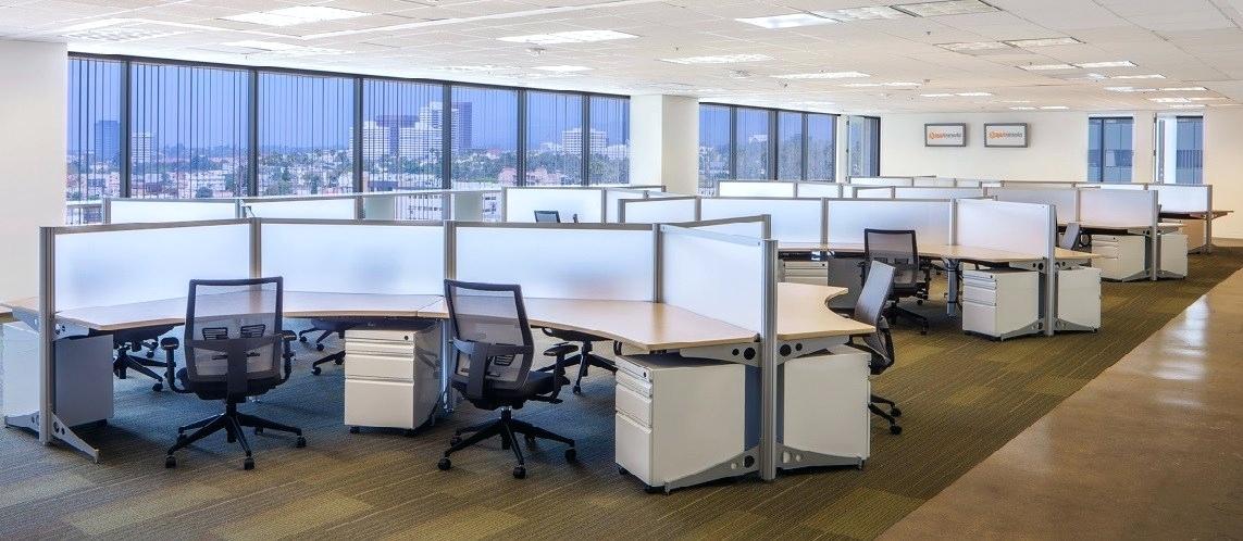 giải pháp văn phòng mở hiện đại