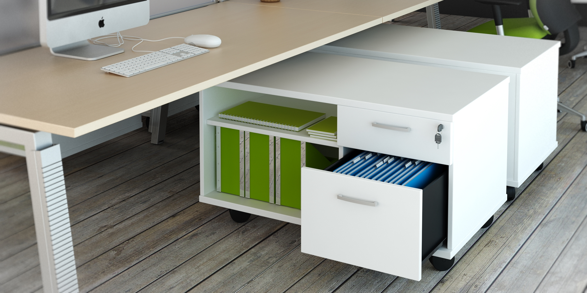hộc di động cho văn phòng