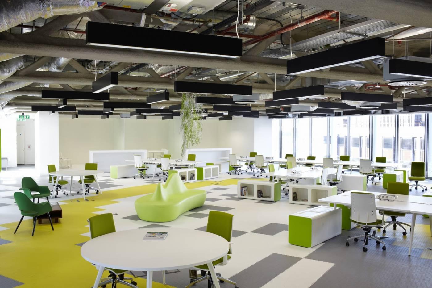 khu vực mở rộng trong văn phòng
