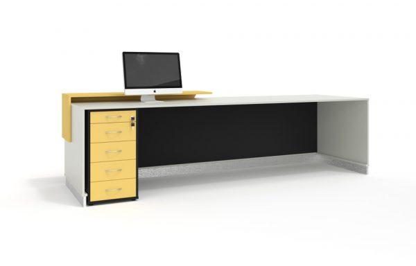 lắp đặt bàn tiếp tân cho văn phòng