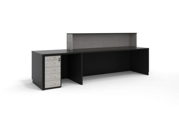 thiết kế lắp đặt sản phẩm nội thất bàn tiếp tân
