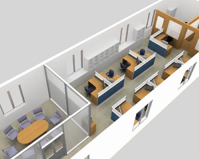 Những nguyên tắc trong thiết kế nội thất văn phòng