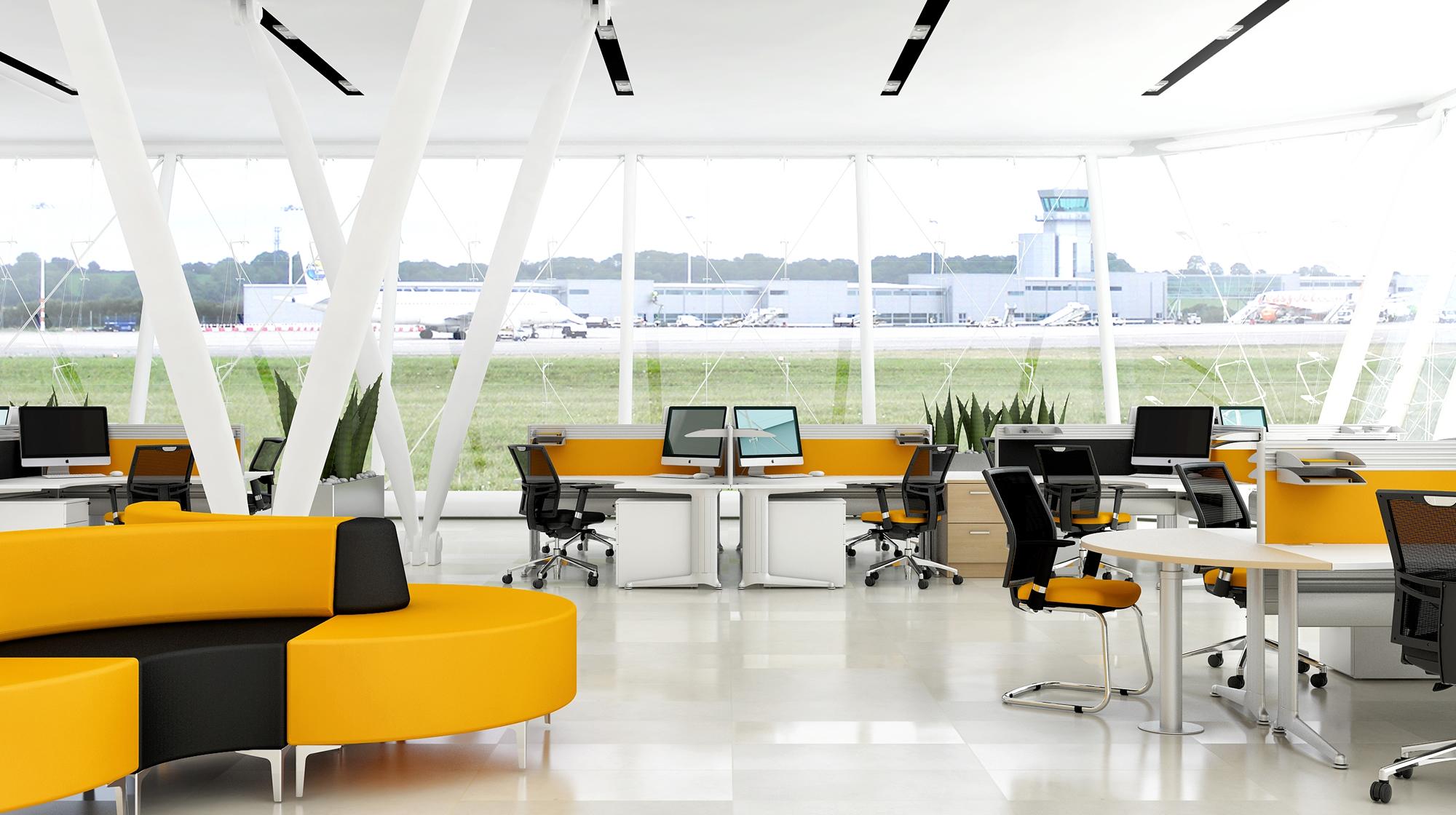 Mẫu nội thất văn phòng hiện đại năm 2018