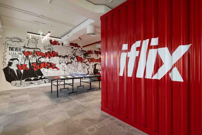 Tham khảo thiết kế văn phòng mở ở Dubai