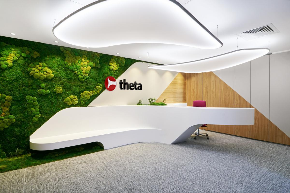 Một số mẫu thiết kế khu vực lễ tân cho văn phòng hiện đại