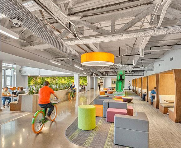 Những ý tưởng thiết kế văn phòng có một không hai trên thế giới