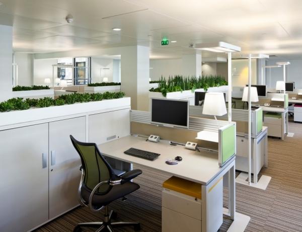 Làm việc hiệu quả hơn bằng việc sắp xếp lại không gian văn phòng