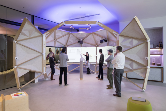 Tham khảo thiết kế nội thất văn phòng công nghệ