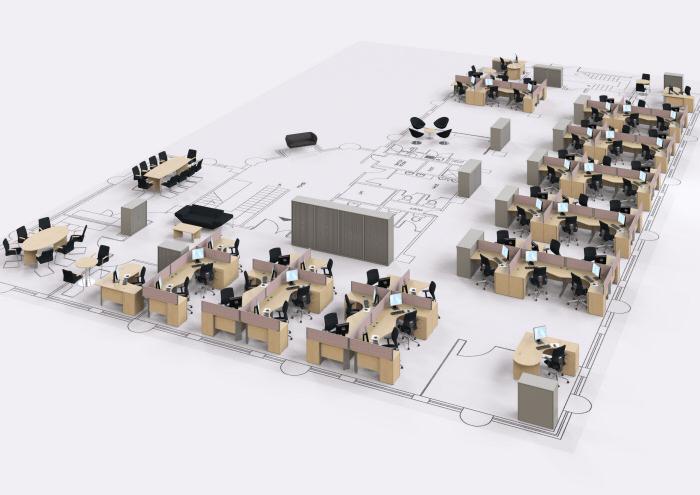 20 mẫu thiết kế nội thất văn phòng chuyên nghiệp