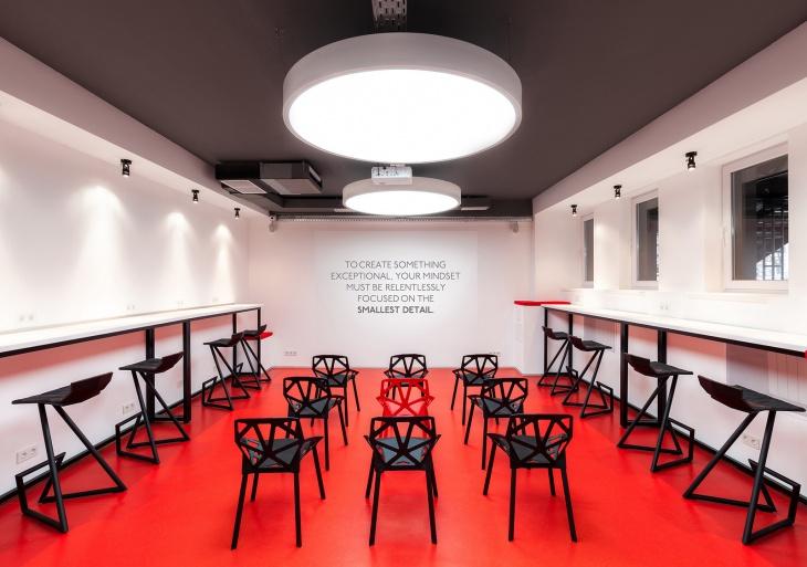 Lưu ý khi thiết kế phòng họp không gian làm việc
