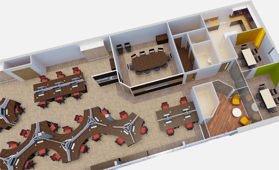 Những điểm cần lưu ý trong thiết kế nội thất văn phòng
