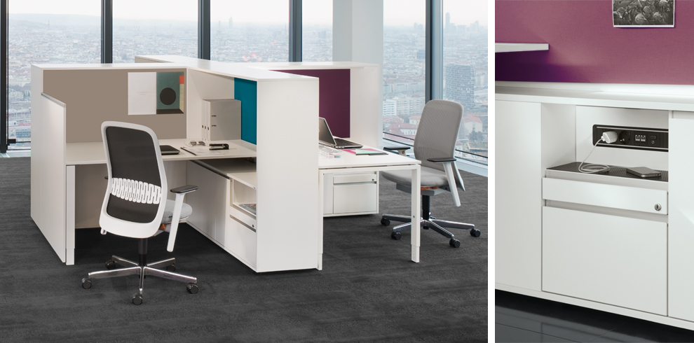 Giới thiệu sản phẩm nội thất văn phòng hãng Bene