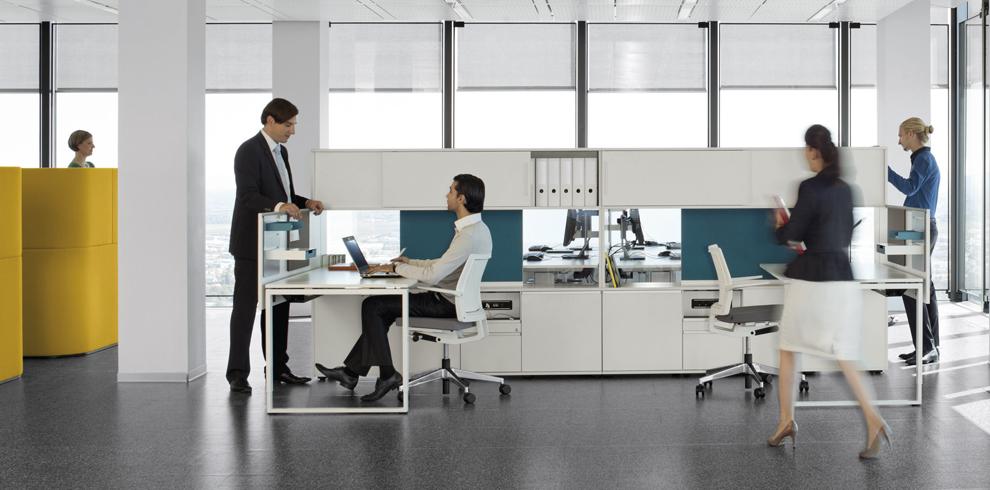 """Giới thiệu sản phẩm nội thất văn phòng """"Cube_S"""" của hãng Bene"""