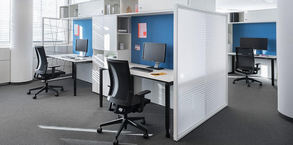 """Giới thiệu sản phẩm nội thất văn phòng """"Flame_S"""" của hãng Bene (phần 2)"""