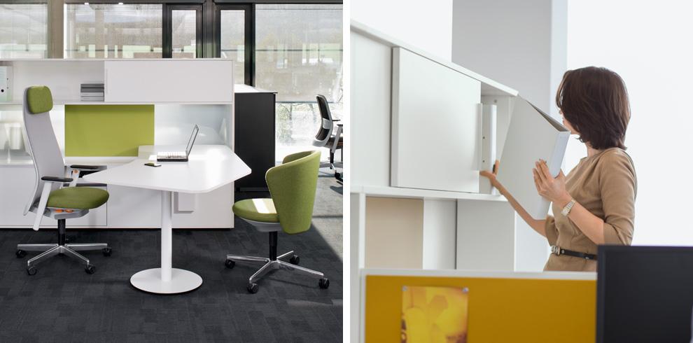 """Giới thiệu sản phẩm nội thất văn phòng """"Cube_S"""" (phần 2)"""