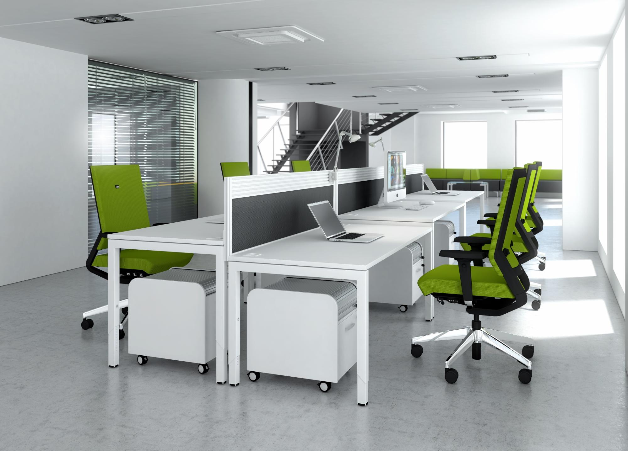Giới thiệu bàn ghế nhân viên văn phòng hãng Elite
