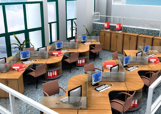 Thiết kế nội thất văn phòng cao cấp độc đáo hiện nay