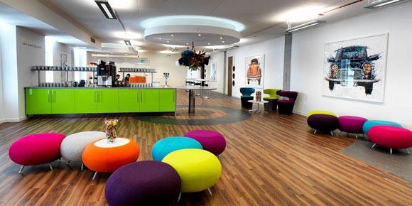 Ý tưởng sử dụng màu sắc trong thiết kế nội thất văn phòng