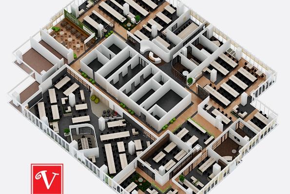 Làm sao để thiết kế văn phòng tại Hà Nội chuyên nghiệp, hiện đại