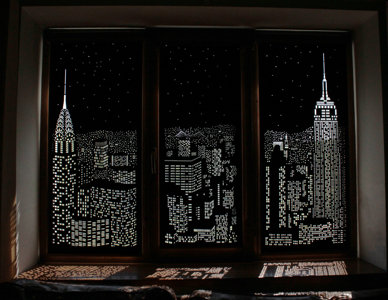 Giải pháp che nắng với rèm cửa đầy sáng tạo