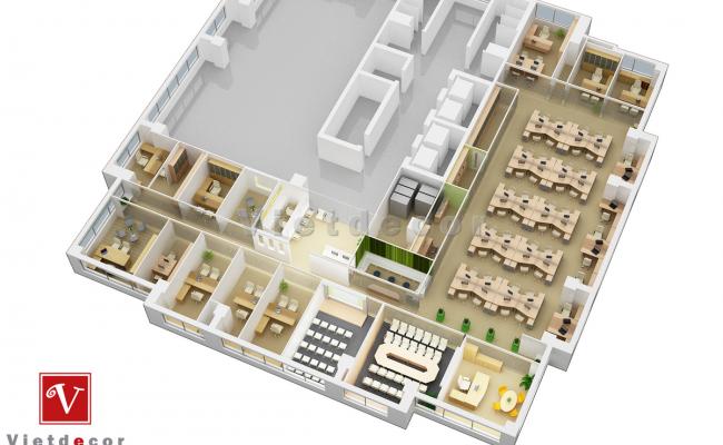 Lý thuyết thiết kế không gian nội thất và thực tiễn