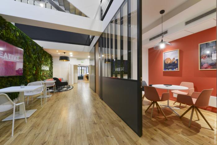 Thiết kế văn phòng Sopexa theo phong cách gần với thiên nhiên