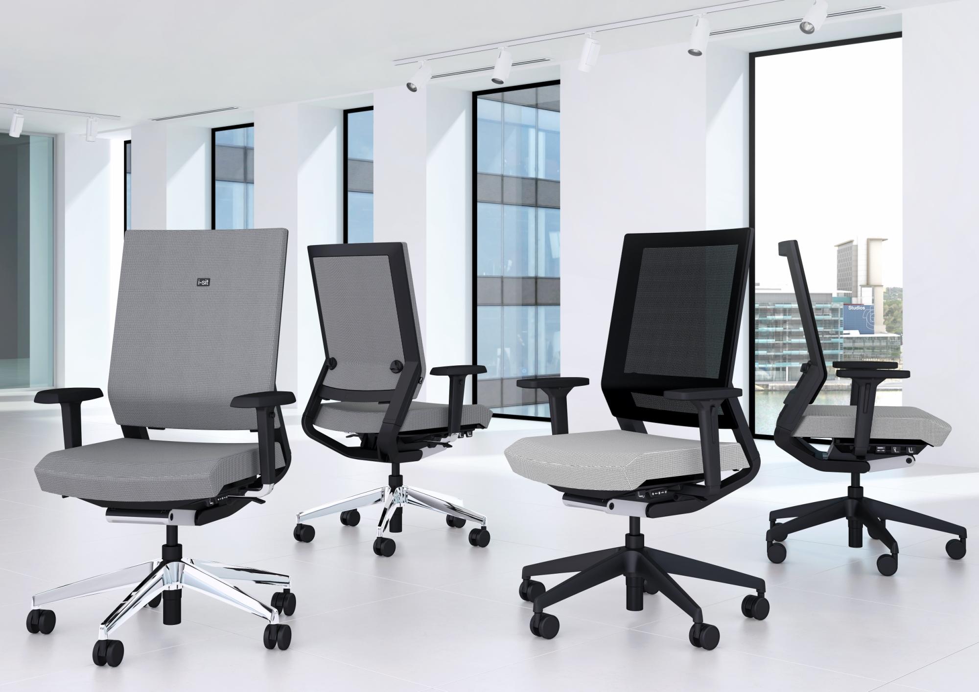 Một số sản phẩm ghế văn phòng hiện đại của hãng ELITE